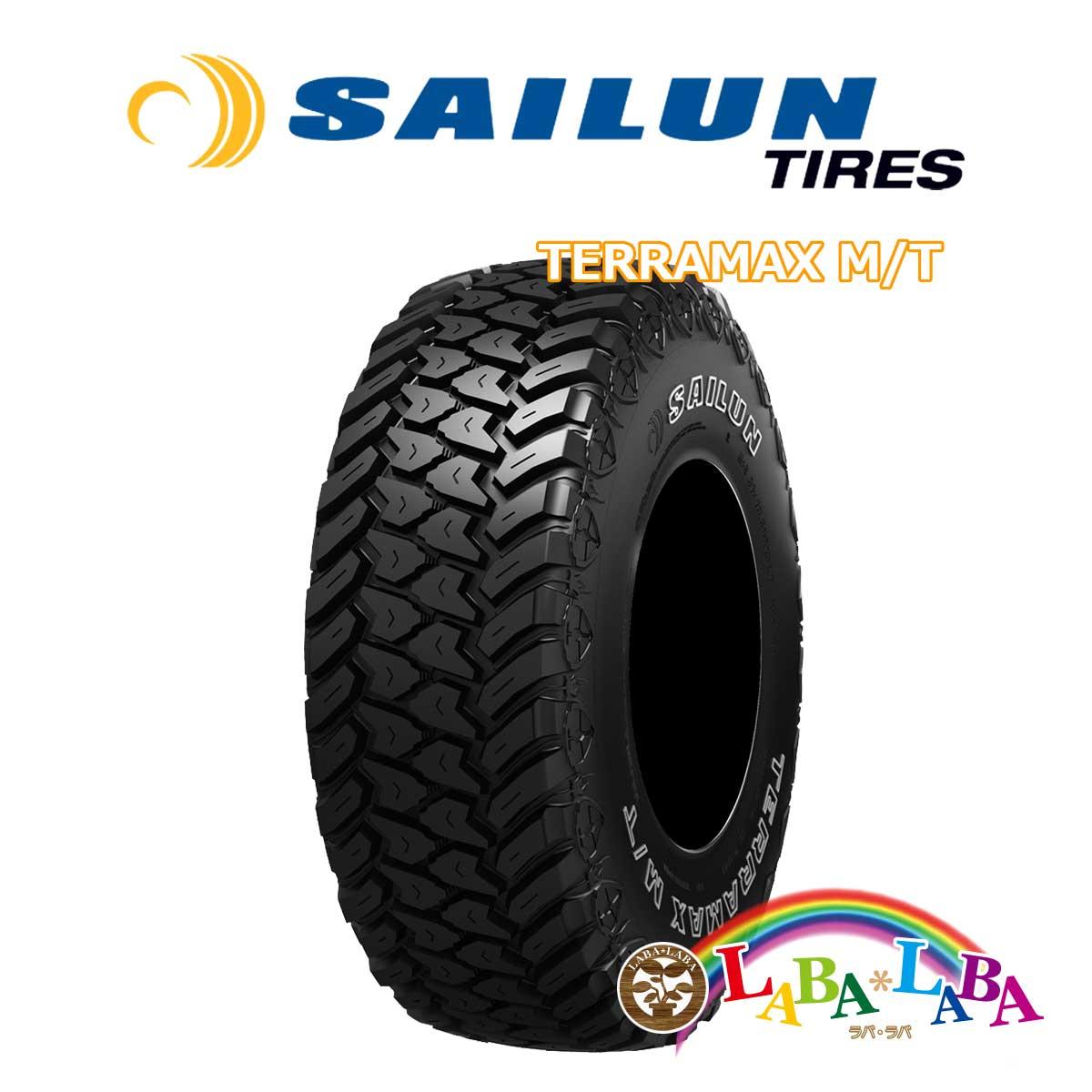 送料無料 輸入タイヤ オフロード 新品 タイヤのみ 4本SET SAILUN サイレン TERRAMAX テラマックス 4WD 4本セット SUV T ストア 33×12.50R18 マッドテレーン 最新 MT 118Q M