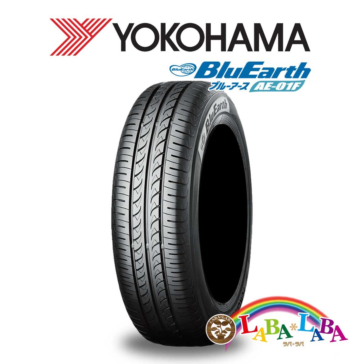 YOKOHAMA ヨコハマ BluEarth ブルーアース AE01F 195/60R16 89H サマータイヤ 2本セット