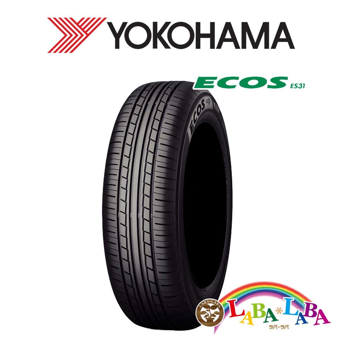YOKOHAMA ヨコハマ ECOS エコス ES31 185/60R16 86H サマータイヤ 4本セット