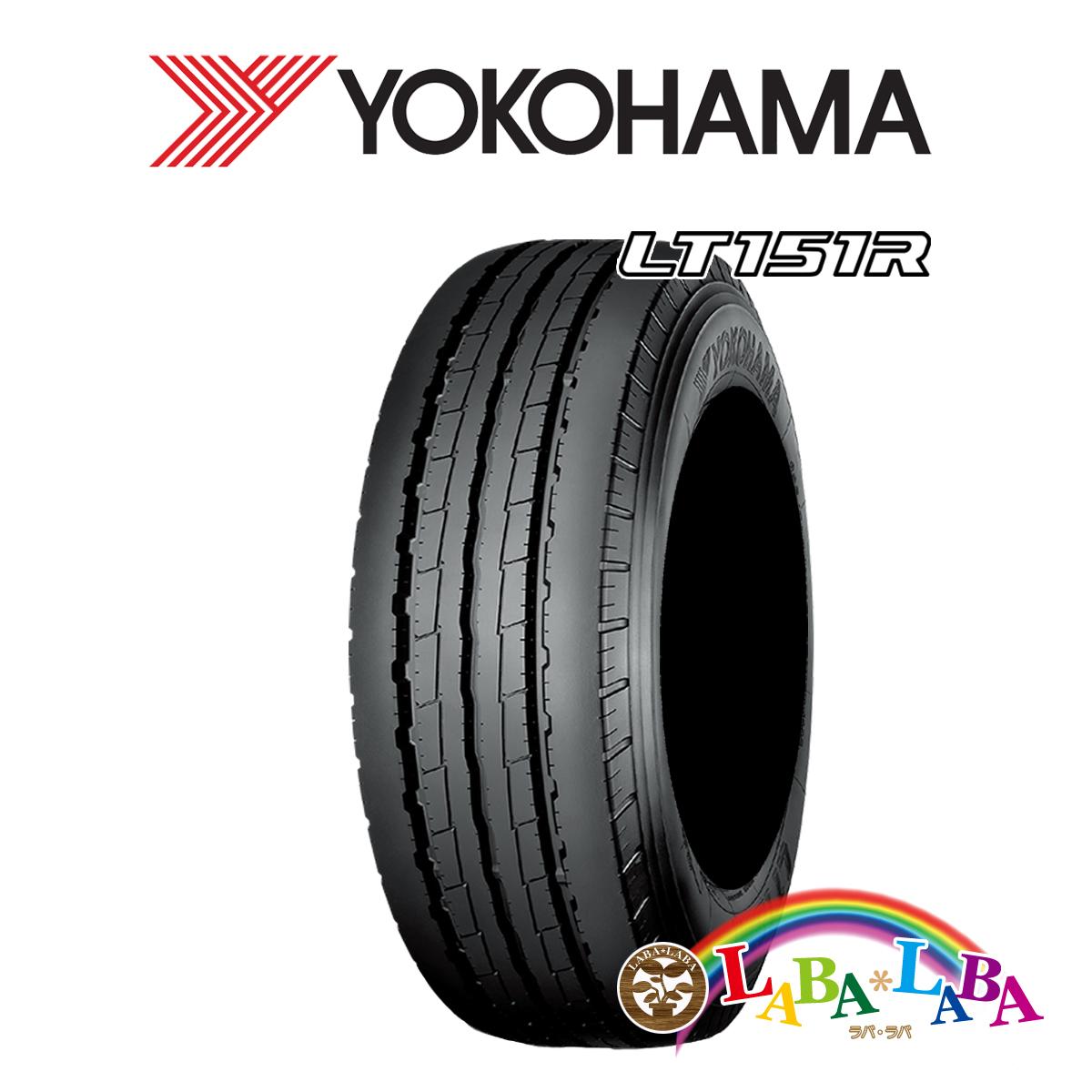 2本以上送料無料 国産タイヤ サマータイヤ !超美品再入荷品質至上! 新品 タイヤのみ 送料無料お手入れ要らず YOKOHAMA ヨコハマ LT151R バン 106 104L 185 75R15 LT