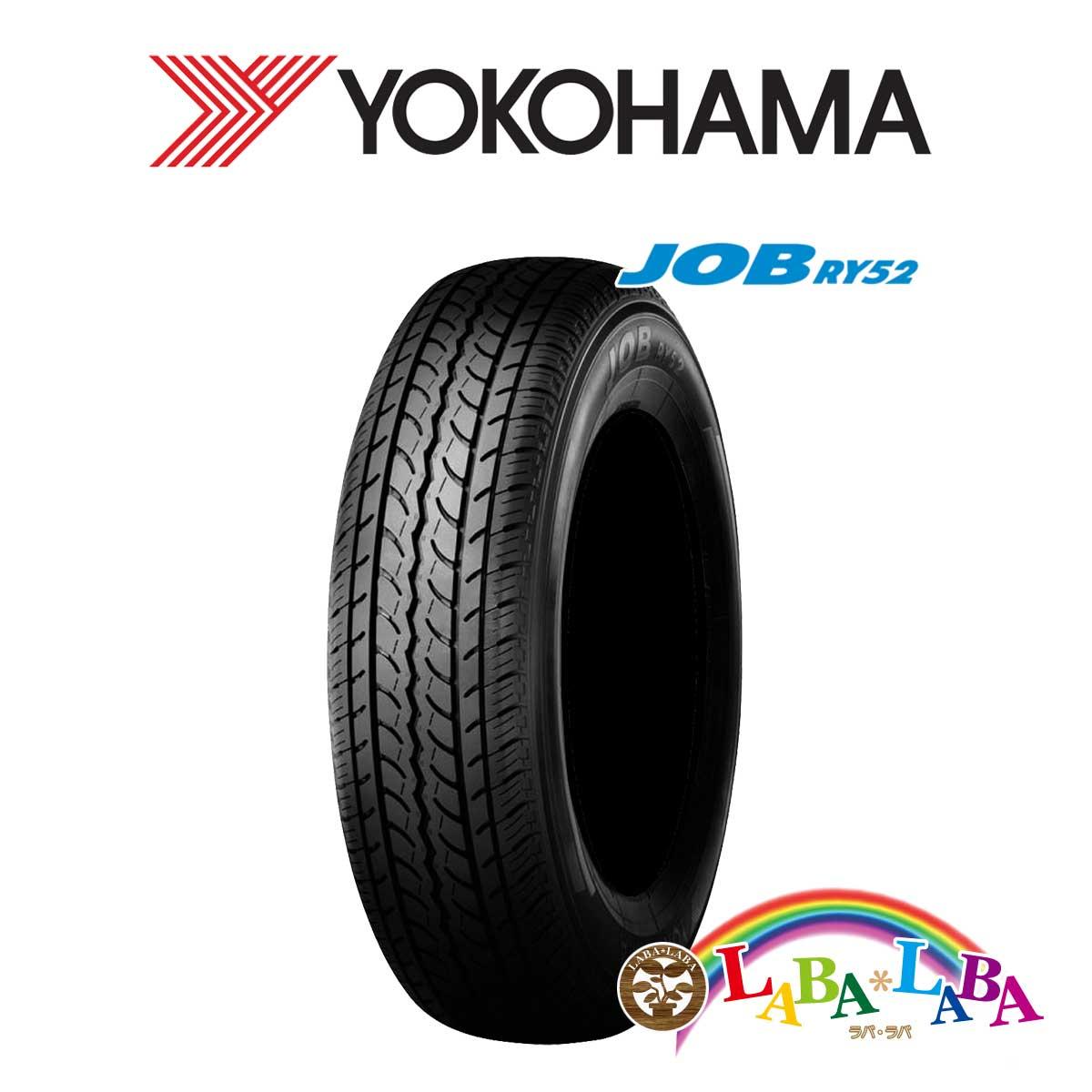2本以上送料無料 国産タイヤ サマータイヤ 新品 タイヤのみ YOKOHAMA ヨコハマ JOB LT 106 返品交換不可 70R15 未使用 195 ジョブ バン 104L RY52