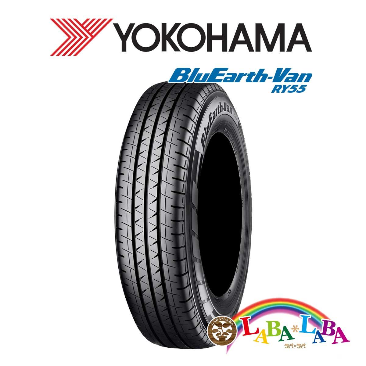 <title>送料無料 国産タイヤ サマータイヤ 人気上昇中 新品 タイヤのみ 4本SET YOKOHAMA ヨコハマ BluEarth-Van ブルーアース RY55 165 80R13 90 88N バン LT 4本セット</title>