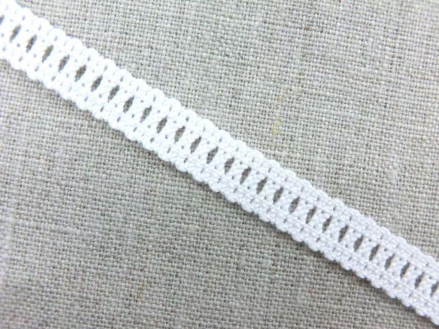 肌に優しいキトポリィ糸使用 メール便送料無料 在庫処分 ストレッチレース 日本製 優先配送 手芸 半額 縁取り 装飾