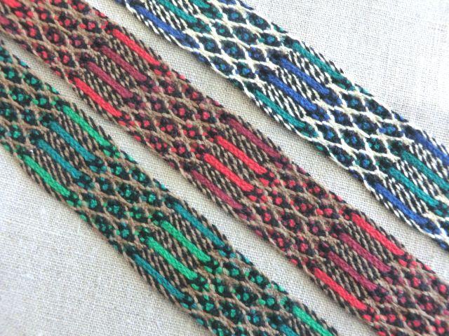 ファッション通販 26mm幅 柔らかい風合い 3色展開 1m~ご注文 手編み風チロルテープレース 縁取り 装飾 日本製 オリジナル 手芸
