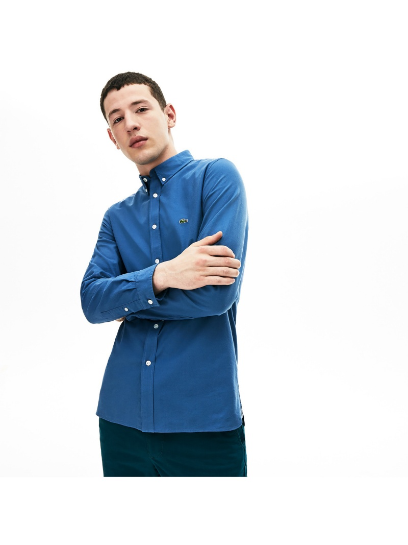 [Rakuten Fashion]【SALE/30%OFF】ストレッチボタンダウンシャツ LACOSTE ラコステ シャツ/ブラウス 長袖シャツ【RBA_E】【送料無料】