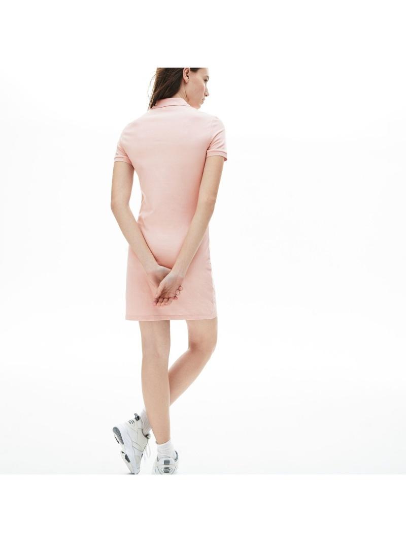Rakuten Fashion ストレッチコットンピケポロドレス LACOSTE ラコステ ワンピース シャツワンピース ホワイト 送料無料m8yNOnwv0
