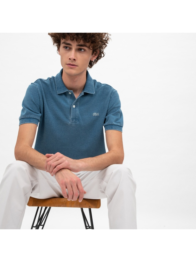 [Rakuten BRAND AVENUE]インディゴ ポロシャツ LACOSTE ラコステ カットソー【送料無料】