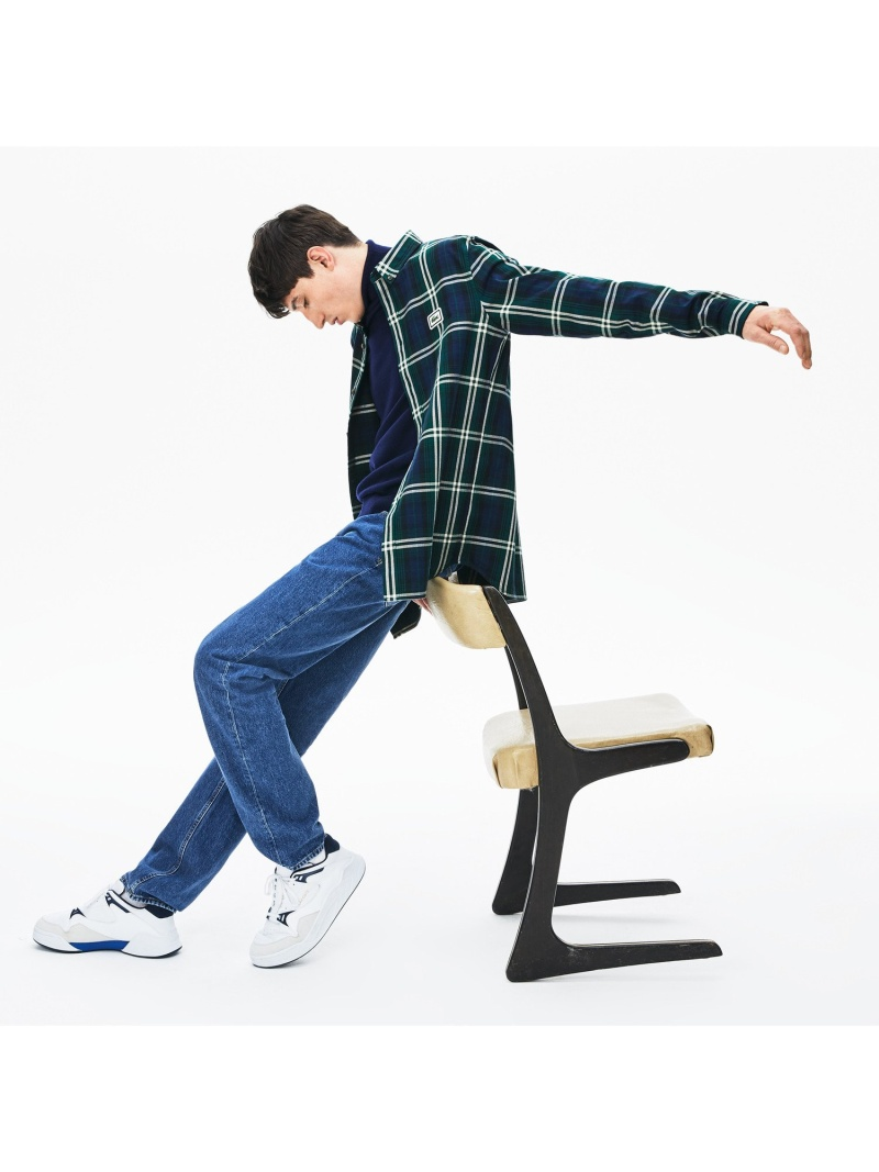 [Rakuten Fashion]【SALE/30%OFF】フランネルボタンダウンシャツ LACOSTE ラコステ シャツ/ブラウス 長袖シャツ【RBA_E】【送料無料】