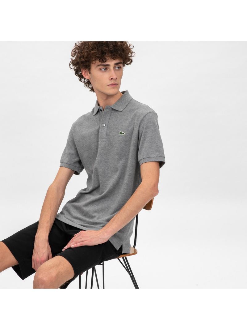 [Rakuten Fashion]スリムフィットポロシャツ (半袖) LACOSTE ラコステ カットソー ポロシャツ ホワイト ブラック【送料無料】