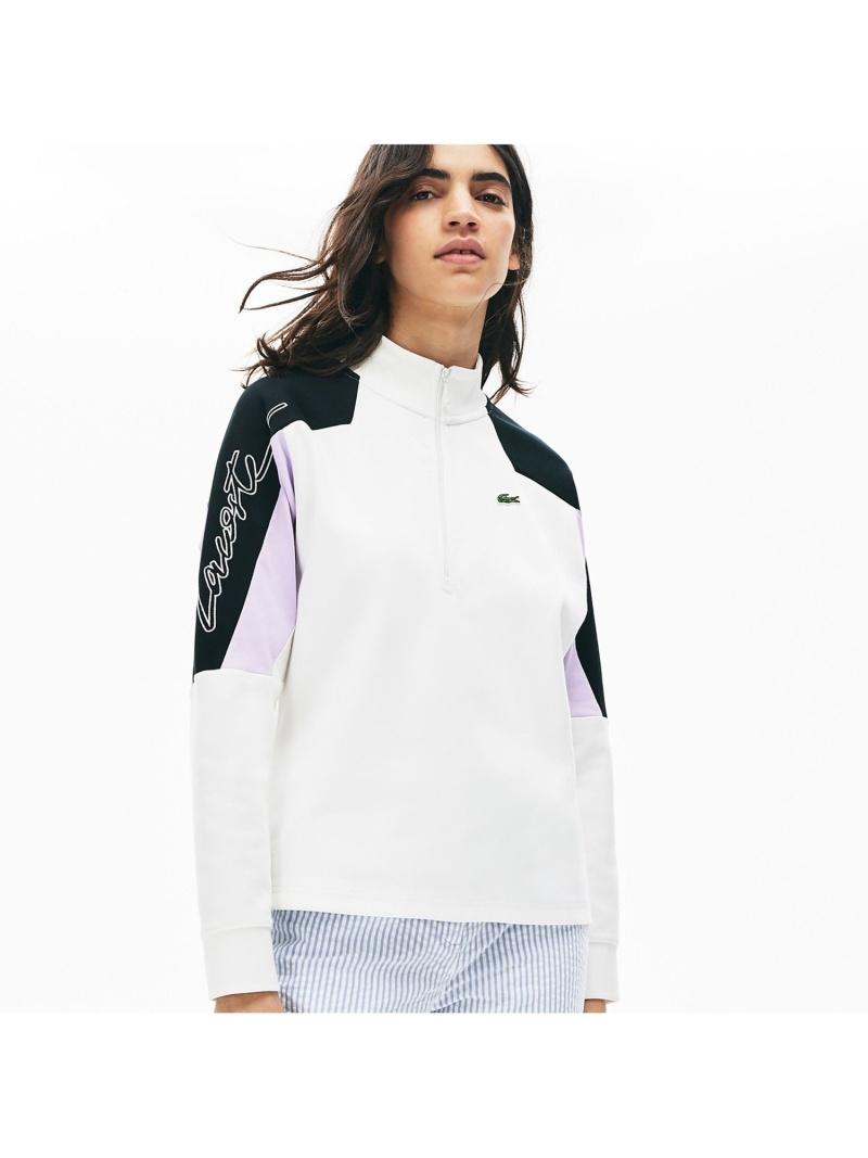 [Rakuten Fashion]【SALE/30%OFF】カラーブロックハーフジップスウェットシャツ LACOSTE ラコステ カットソー スウェット【RBA_E】【送料無料】