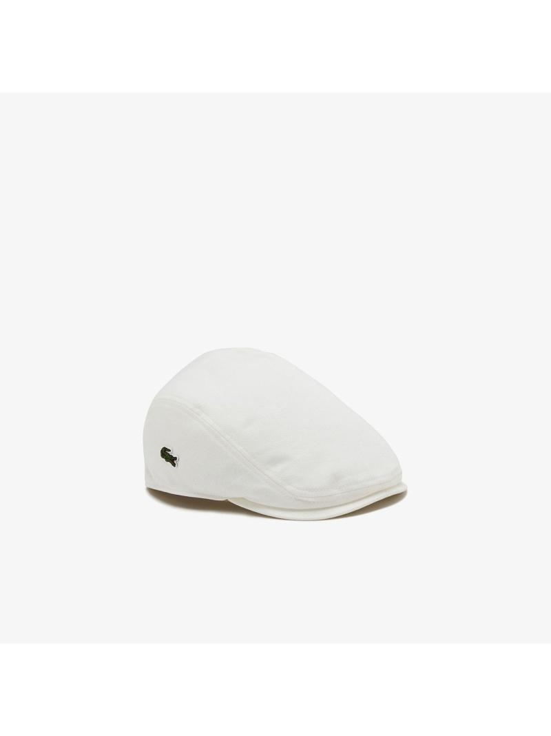 ☆新作入荷☆新品 ショッピング rba_rb09 LACOSTE メンズ 帽子 ヘア小物 ラコステ Rakuten Fashion ベレー帽 ブラック ベージュ ネイビー 送料無料 ホワイト ベーシックコットンハンチング