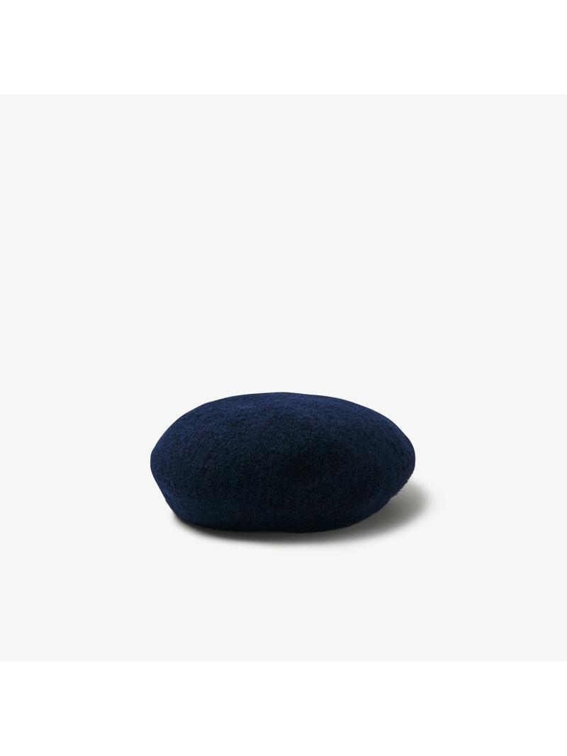 【rba_rb09】LACOSTE レディース 帽子/ヘア小物 ラコステ  [Rakuten Fashion]ナイロンブレンドウールニットベレー LACOSTE ラコステ 帽子/ヘア小物 ベレー帽 ネイビー グレー【送料無料】