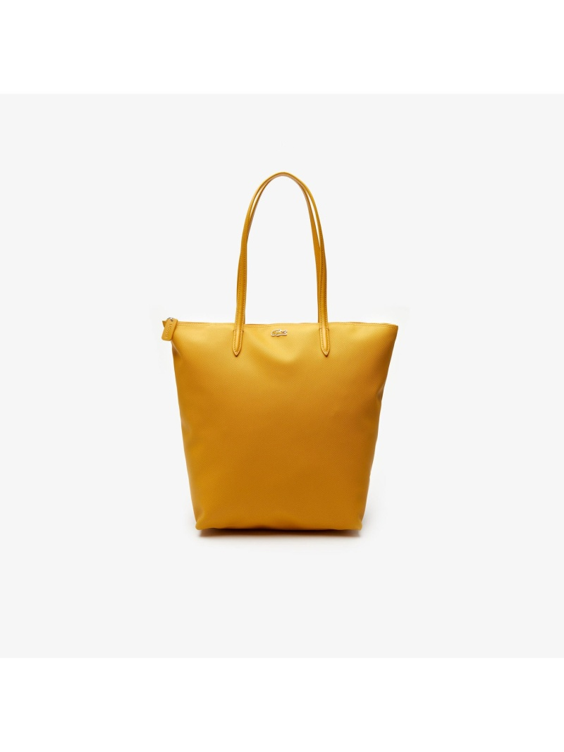 [Rakuten Fashion]L.12.12プチピケ縦長トートバッグ LACOSTE ラコステ バッグ トートバッグ イエロー ブラック グリーン ホワイト ピンク ブルー レッド ベージュ【送料無料】