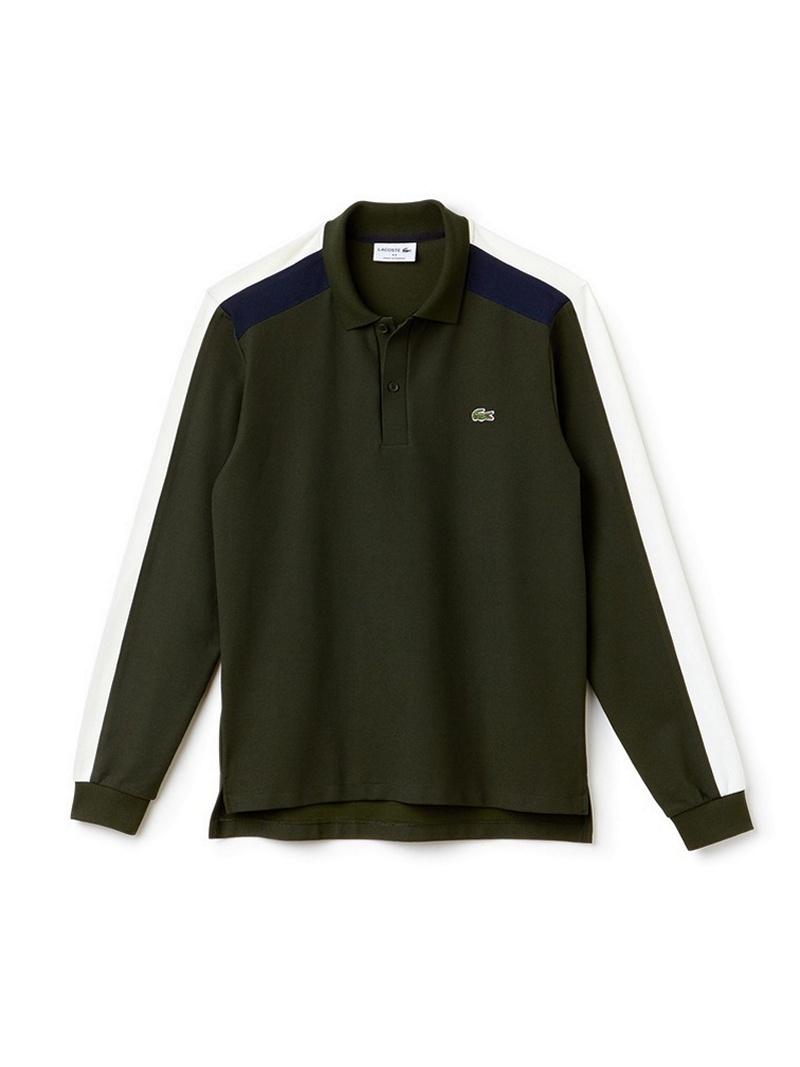 [Rakuten BRAND AVENUE]【SALE/30%OFF】カラーブロック ポロシャツ (長袖) ラコステ シャツ/ブラウス【RBA_S】【RBA_E】【送料無料】