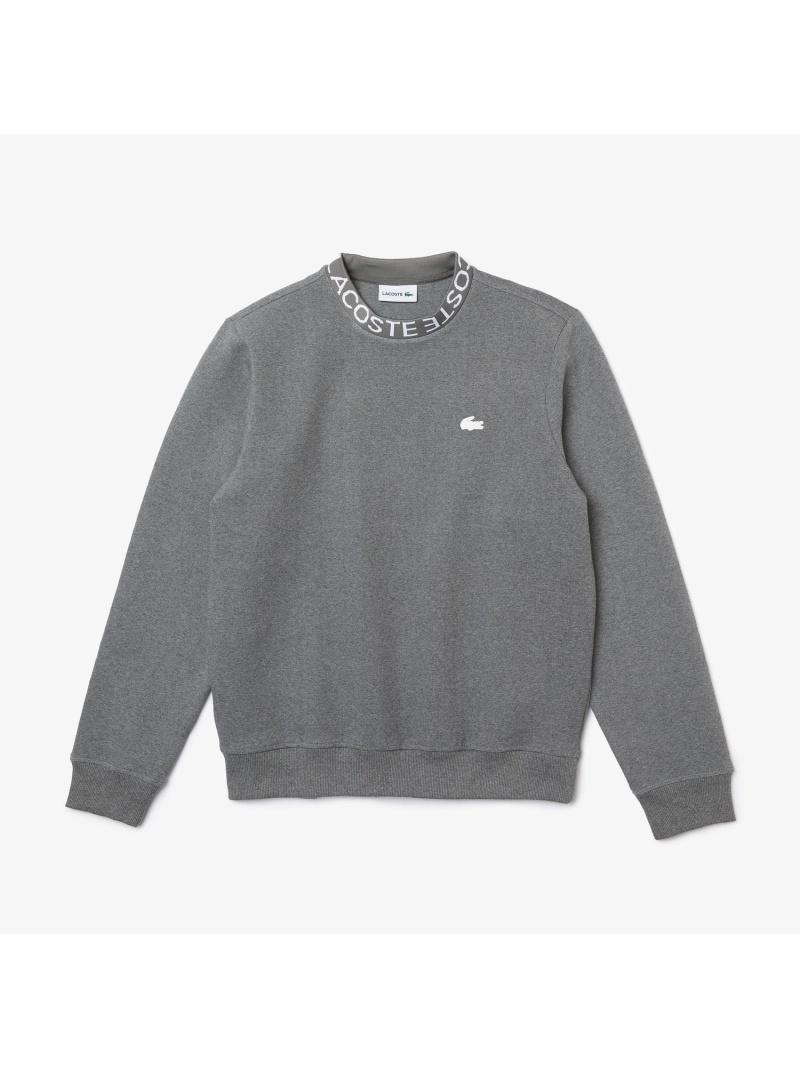 LACOSTE メンズ カットソー ラコステ コットンブレンドロゴネックスウェットシャツ スウェット 送料無料 ブラック Rakuten 公式ショップ グレー お気にいる Fashion