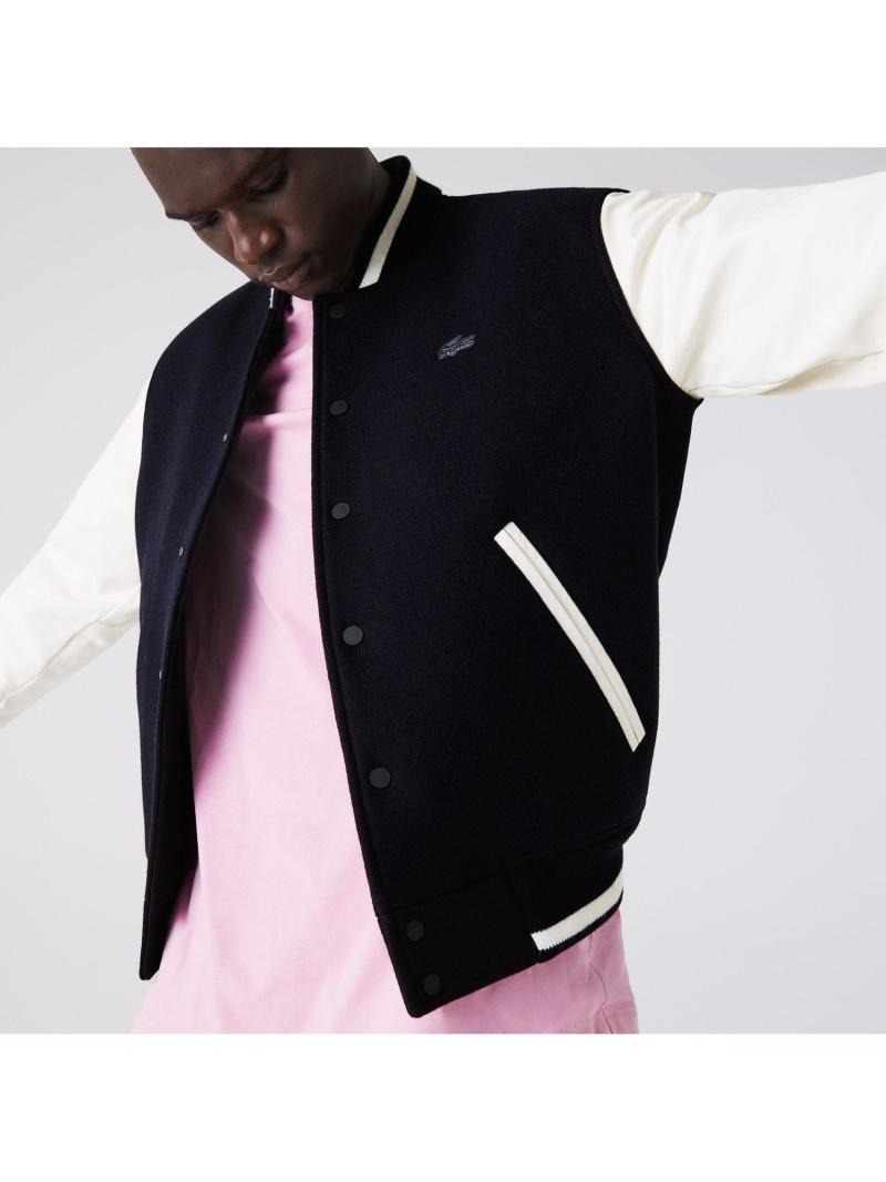LACOSTE メンズ コート ジャケット ※ラッピング ※ ラコステ SALE 40%OFF 送料無料 Rakuten Fashion 高品質 ブルゾン スタジアムジャンパー RBA_E
