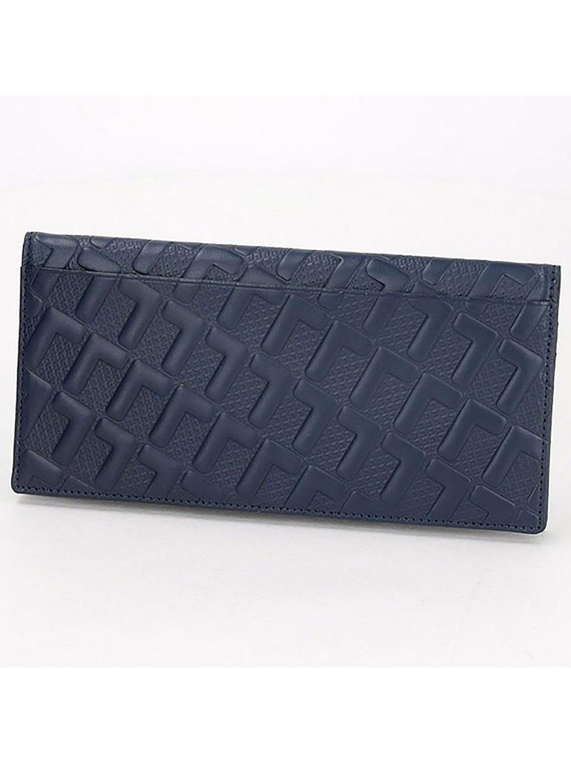 [Rakuten Fashion]LeMonogrammeロングウォレット LACOSTE ラコステ 財布/小物 財布 ネイビー ブラック【送料無料】