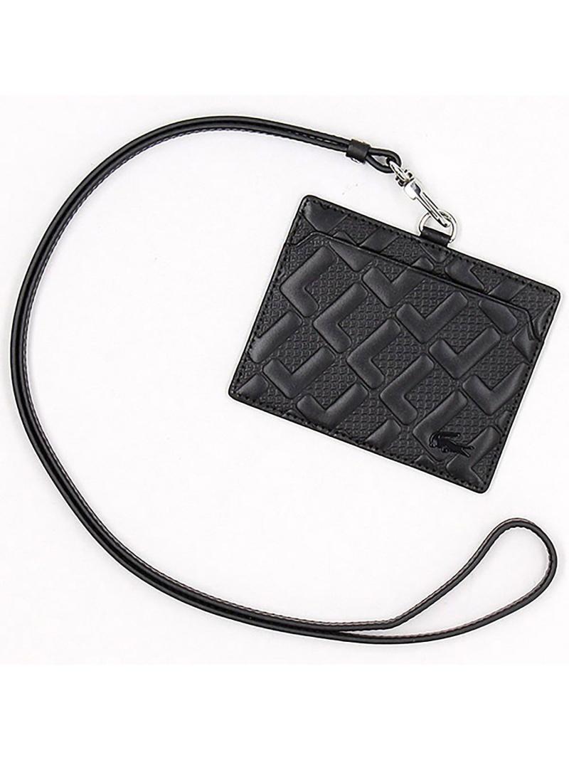 [Rakuten Fashion]LeMonogrammeIDケース LACOSTE ラコステ 財布/小物 パスケース/カードケース ブラック ネイビー【送料無料】