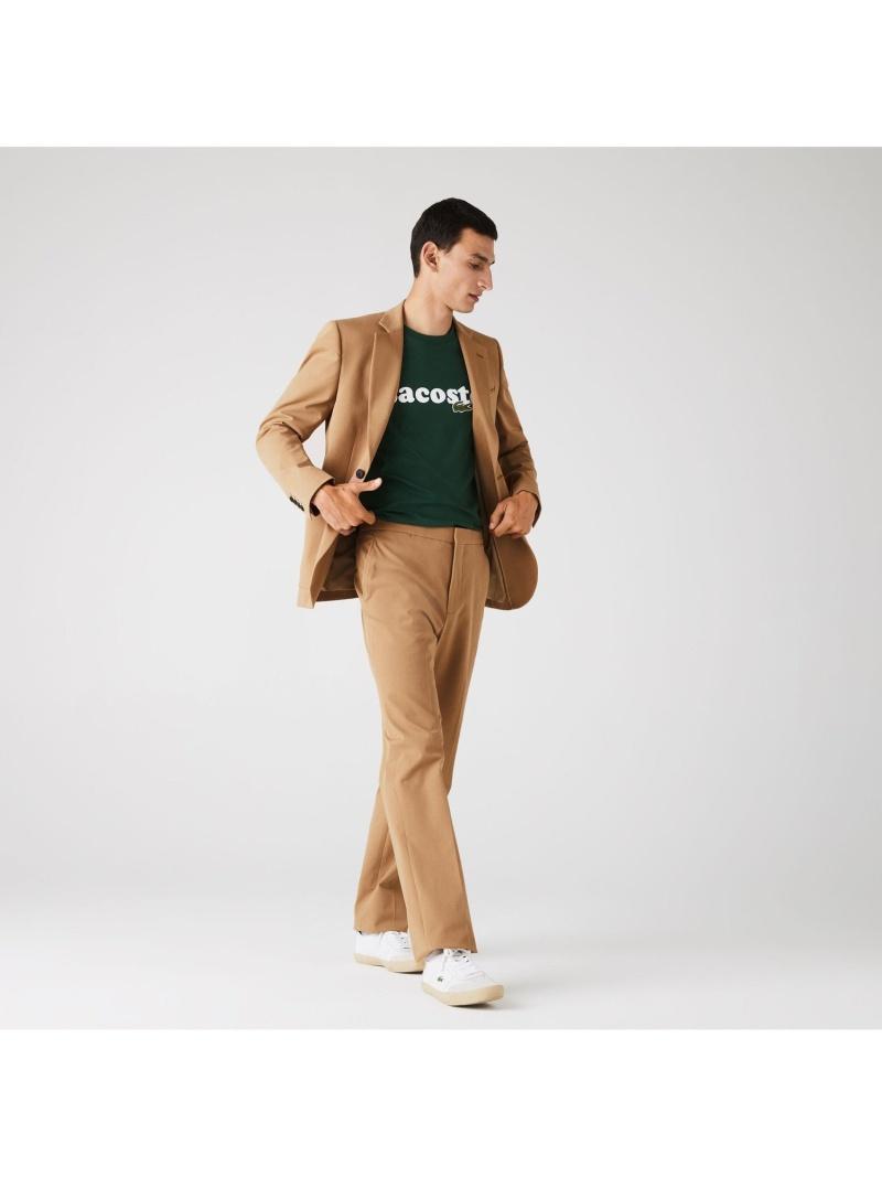 [Rakuten Fashion]ストレッチコットンイージーチノパンツ LACOSTE ラコステ パンツ/ジーンズ チノパンツ ベージュ【送料無料】