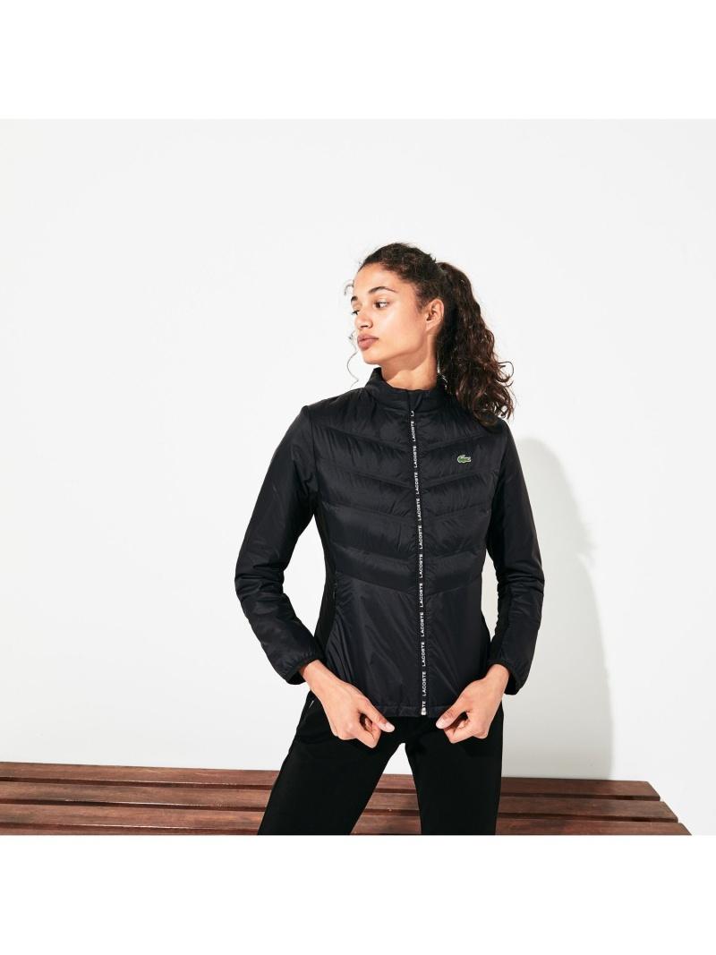 [Rakuten Fashion]【SALE/50%OFF】シームレスキルティングテニスジャケット LACOSTE ラコステ コート/ジャケット ダウンジャケット ブラック【RBA_E】【送料無料】