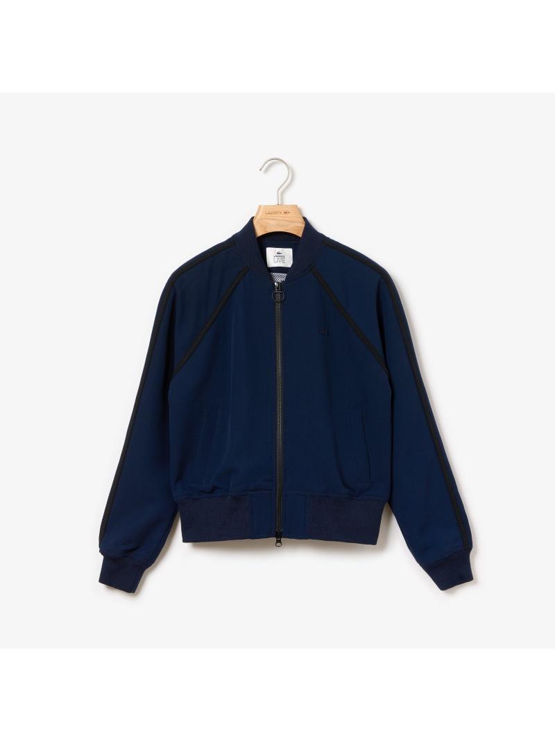 [Rakuten Fashion]【SALE/50%OFF】ボンバートラックジャケット LACOSTE ラコステ コート/ジャケット ブルゾン【RBA_E】【送料無料】