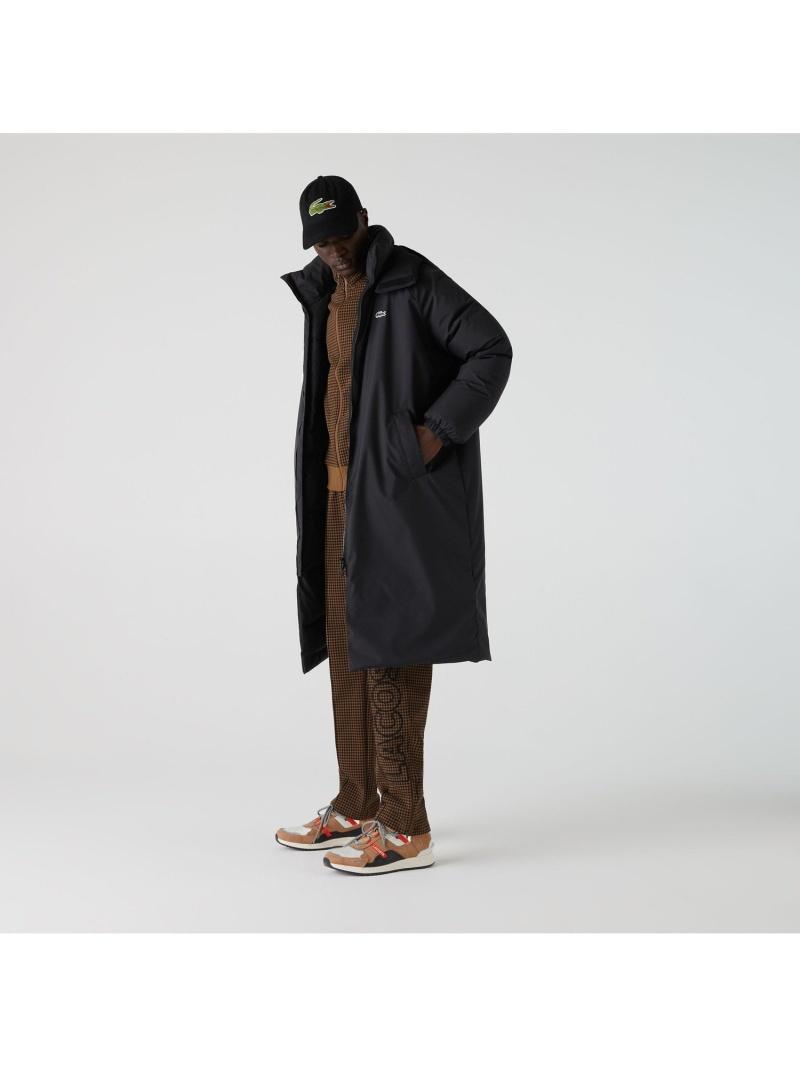 [Rakuten Fashion]LACOSTE L!VE 撥水ダウンベンチコート LACOSTE ラコステ コート/ジャケット ダウンジャケット ブラック【送料無料】