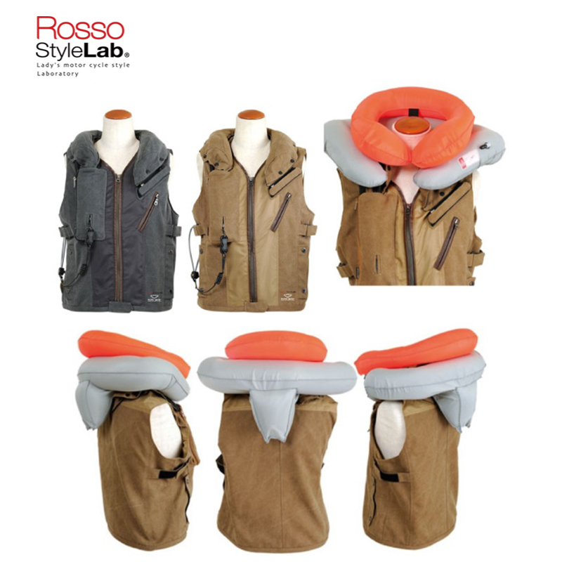 RossoStyleLab ROSSO×hit-air コラボプロテクトベスト ROJH-001