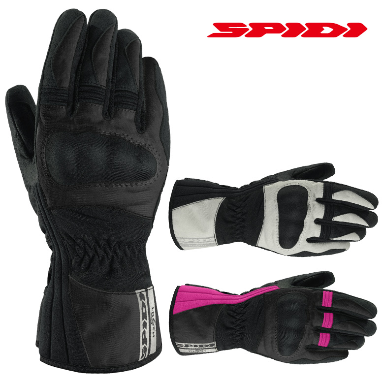 バイク用品 Voyager H2Out Glove Lady 防水 防風 撥水 女性ライダー 春 秋 冬 Black レディース SPIDI(スピーディー) B54 【海外取寄品につき納期2~3週間】
