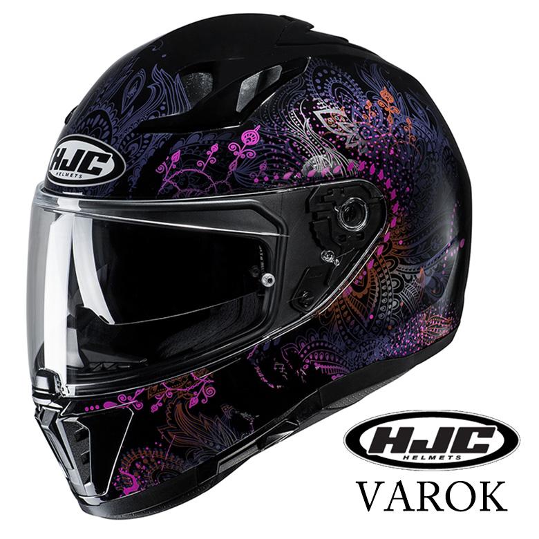 バイク用品 i70 VAROK バイク 用品 カッコいい フルフェイス ヴァロク HJC HJH170 取寄品 【4月下旬入荷予定】