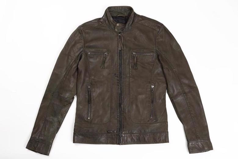 バイク用品 ウェア ジャケットライズ CLUBS JACKET Olive #LRIDEZ 4527625097636 取寄品