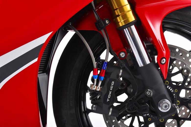 Swage-PRO Rホースキット ステンBLK/クリア    CBR1000RR/SP ABS 17-18 《SWAGE-LINE PRO BTP0033RM》