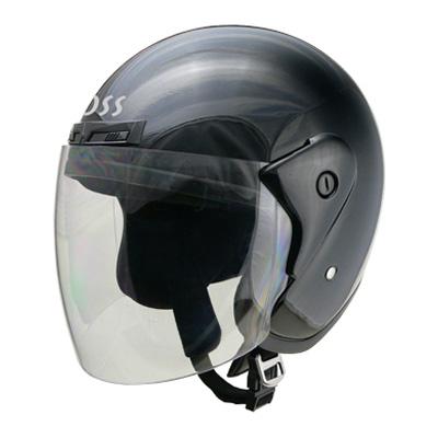 ヘルメット バイク リード工業 CROSS CR-720 ジェットヘルメット ブラック CR-720