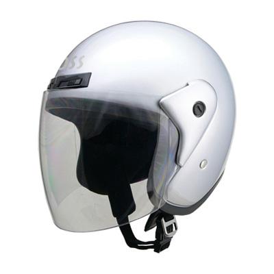 ヘルメット バイク リード工業 CROSS CR-720 ジェットヘルメット シルバー CR-720