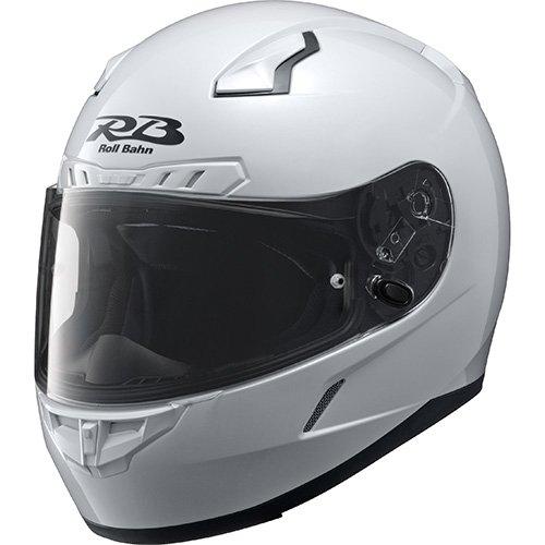 ヤマハ フルフェイスヘルメット YF-8 Roll Bahn ロールバーン ソリッド パールホワイト S
