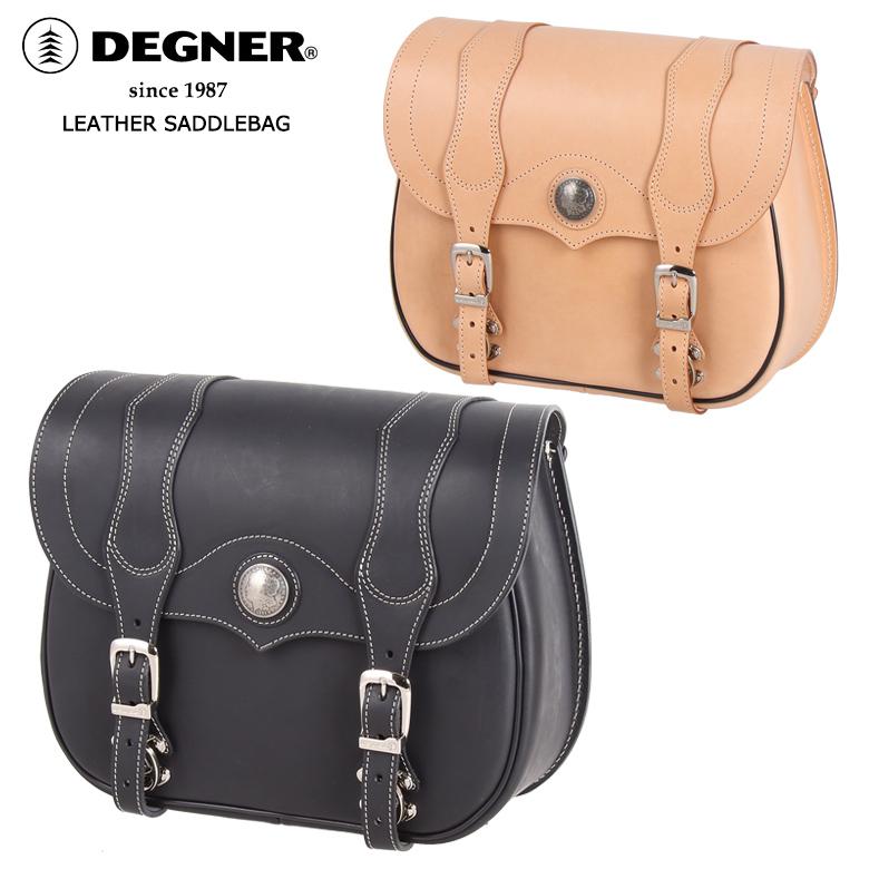 DEGNER DEGNER Leather Saddle Bag レザーサドルバッグ SB-24 【送料無料】