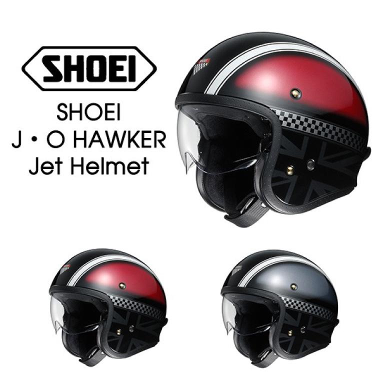 レディース ヘルメット SHOEI J・O HAWKER ジェットヘルメット レディース バイク 女性用 ショーエイ ジェットヘルメット シールド付き オープンフェイスヘルメット 【送料無料】