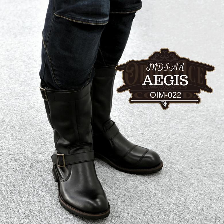 【送料無料】レディース バイク用ブーツ オリオンエース インディアン AEGIS OIM-022