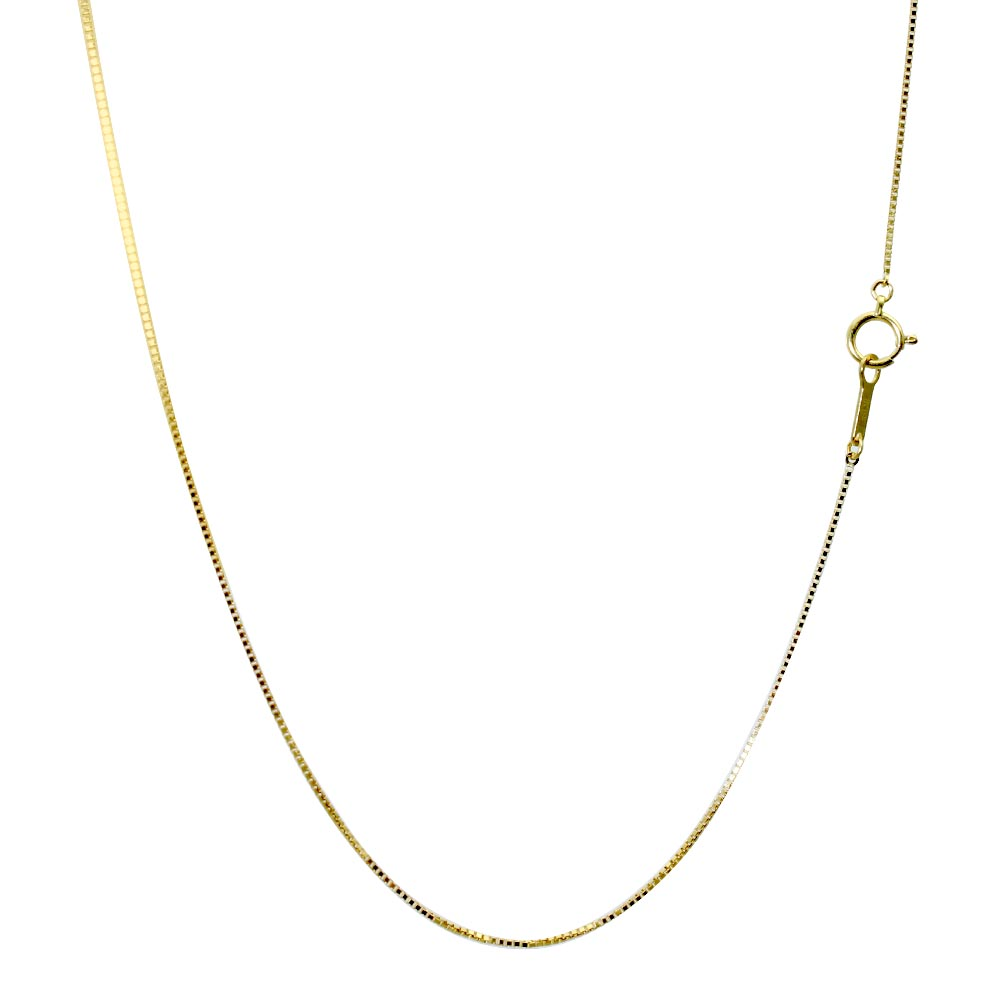 シアーズ Sears K18 18金 ゴールドチェーン 8面ダイヤカット ベネチアンチェーン 76041010774