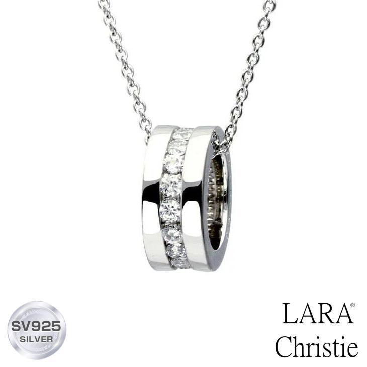 ネックレス レディース エタニティ ララクリスティー LARA Christie WHITE Label p471-w