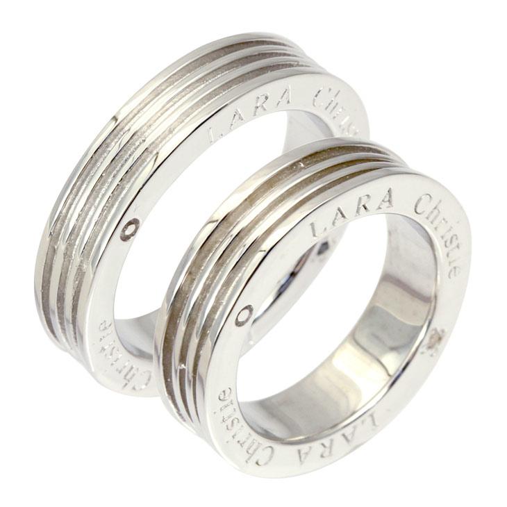 ララクリスティー LARA Christie ペアリング 指輪 ペア ヴォヤージュ ペア リング PAIR Label r3887-p プレゼント カップル