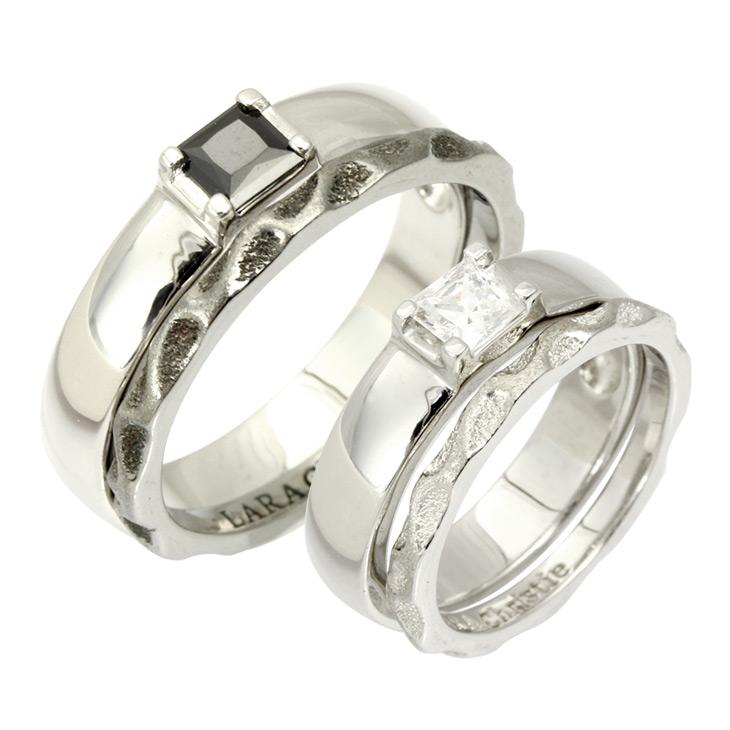 ララクリスティー LARA Christie ペアリング 指輪 ペア ヴェネチアン ペア リング PAIR Label r4472-p プレゼント カップル