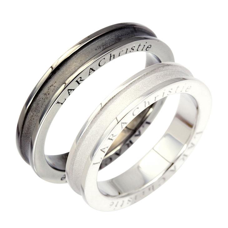 ララクリスティー LARA Christie ペアリング 指輪 ペア ネーヴェ ペア リング PAIR Label r5904-p プレゼント カップル