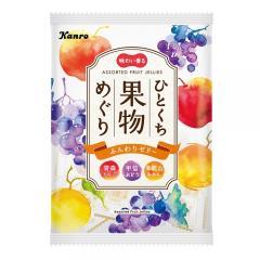 上等 初売り カンロ ひとくち果物めぐりゼリー 115g×6