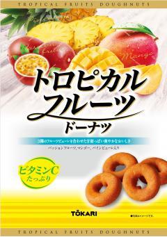 日本全国 送料無料 買い物 東京カリント トロピカルフルーツドーナツ 180g×6