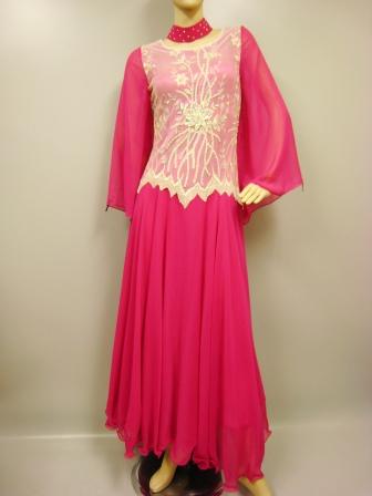 コーラス衣装 コーラス ドレス 衣装 MからLサイズ対応 ダイヤストーンレース刺繍モダンドレス チェリー