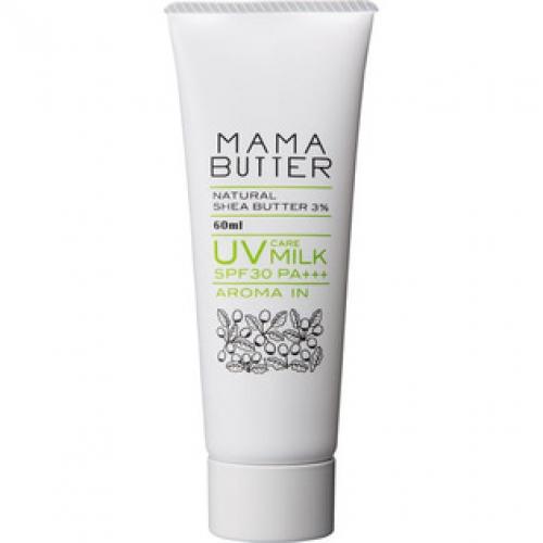 ビーバイイー ママバター UVケアミルク アロマイン 60ML×8個※取り寄せ商品(注文確定後6-20日頂きます) 返品不可