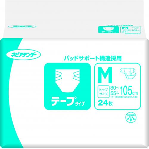 ネピアテンダー テープタイプM 24枚×3個※取り寄せ商品(注文確定後6-20日頂きます) 返品不可