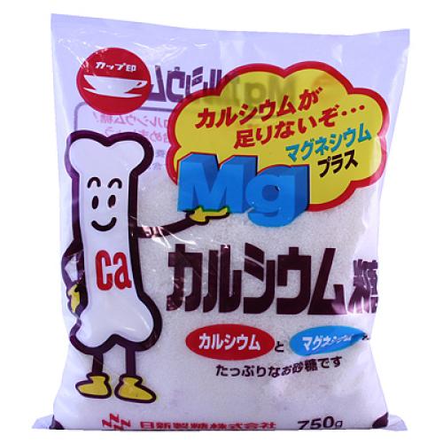 5900円(税込)以上で送料無料! 日新製糖 カルシウム糖 750g