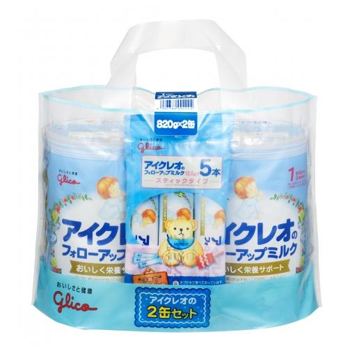 アイクレオのフォローアップミルク (820gx2)×4個