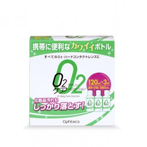 O2デイリーケアソリューション (120mL×3)×30個